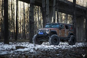 Jeep Wrangler Hunting Unlimited от Art Studuo Vilner