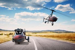 Започнаха продажбите на първия летящ автомобил