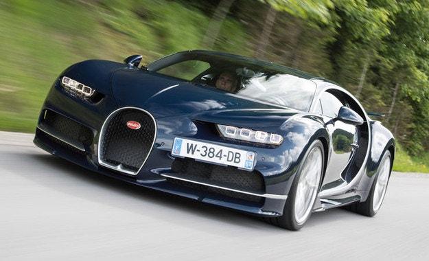 Bugatti Chiron: Супергерой