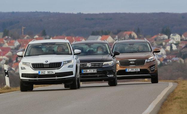 Skoda Kodiaq, Kia Sorento, VW Tiguan: SUV за 80 000 лева