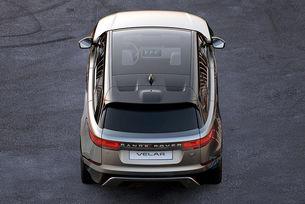 Публикуваха първото изображение на Range Rover Velar