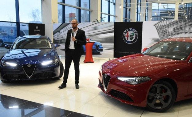 Представиха Alfa Romeo Giulia с италиански шик в София
