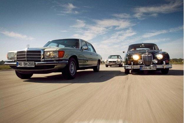 Jaguar Mk II, Maserati Quattroporte, Mercedes 450 SEL 6.9: Мощ и великолепие