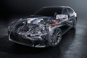 Новият флагман Lexus 500h със система  Multistage Hybrid
