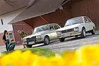 Peugeot 504 TI и Renault 16 TX