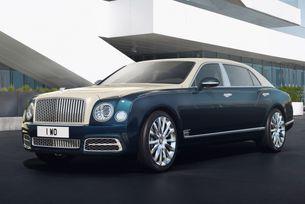 Bentley представя специална версия на Mulsanne