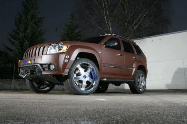 Delta 4x4 Jeep Grand Cherokee Dune