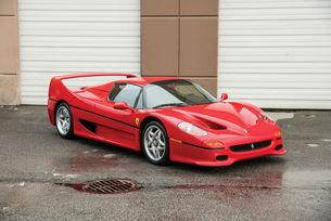 Продадоха Ferrari F50 на Майк Тайсън за 2,64 млн. долара