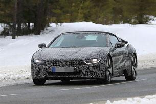 BMW i8 Spyder: Откритата версия стартира през 2018