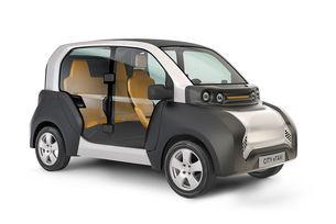 ACM City eTaxi: Лек автомобил на ток