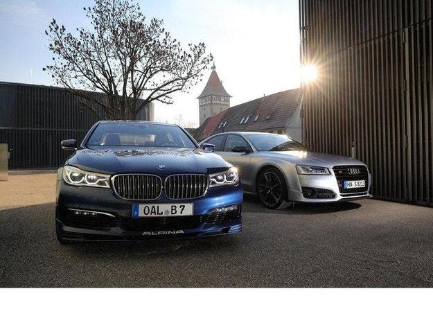 Alpina B7 Biturbo и Audi S8 Plus: Бързи и луксозни