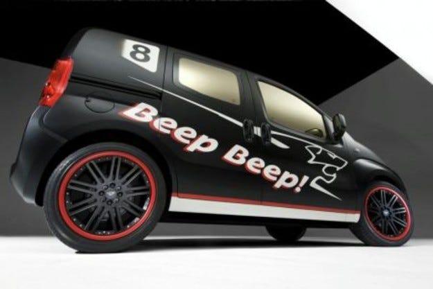 Peugeot Bipper Beep Beep