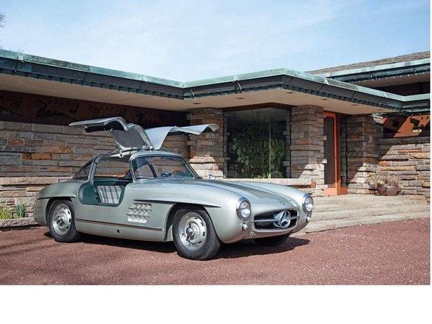 Mercedes-Benz 300 SL и вилата на Макс Хофман