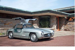 Mercedes-Benz 300 SL и вилата на Макс Хофман