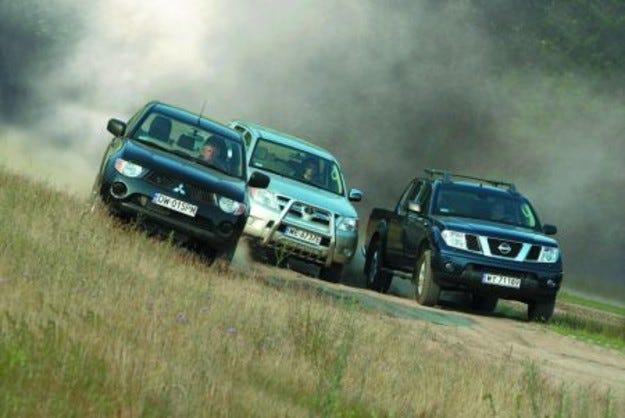 Nissan Navara vs. Mitsubishi L200 vs. Toyota Hilux