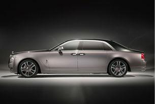 Rolls-Royce Ghost Elegance обвит в диамантен прах