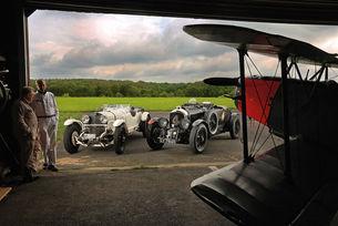 Bentley Blower и Mercedes Super Sport: Танцът на слоновете
