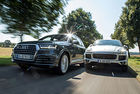 Audi SQ7, Porsche Cayenne S Diesel: Brothers in arms