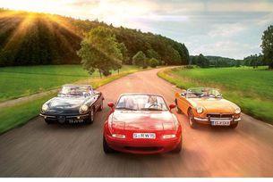 Alfa Spider, Mazda MX-5 и MGB: Добре дошли в клуба