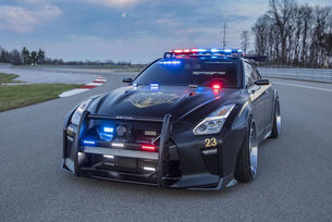 Nissan GT-R Police Pursuit: Copzilla лови престъпници