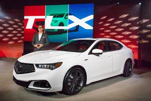 Японската компания Acura обнови седана TLX