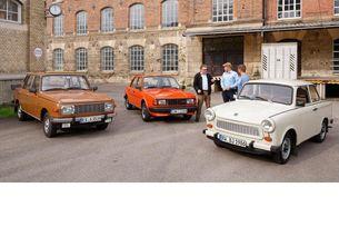 Skoda 105 L, Trabant 601 L, Wartburg 353 W: Бараки от соцлагера