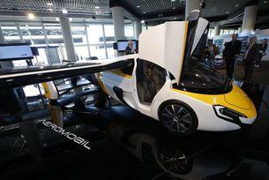 В Монако представиха летящ автомобил