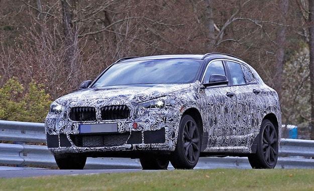 Прототипът BMW X2: Уловен е малък SUV Coupé
