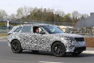 Range Rover Velar SVR: Мощен V8 в SUV купе