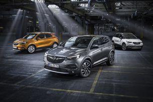 Х-моделите на Opel получават свои X(екс)-три