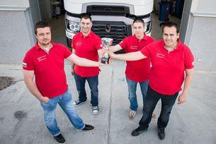 Наш отбор отива на финала на състезанието Renault Trucks