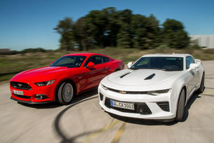Chevrolet Camaro vs. Ford Mustang