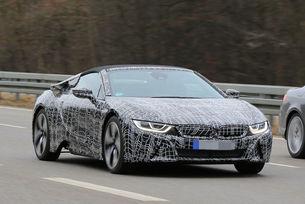 BMW i8 Spyder с повече от 400 к.с.
