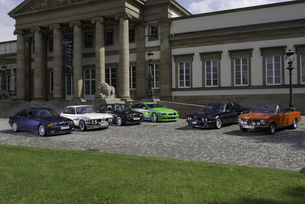 Шест модела на Alpina