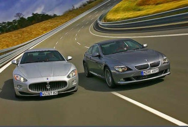 Maserati GT срещу BMW 650i