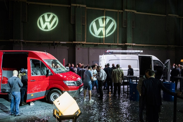 Дебют на новия VW Crafter