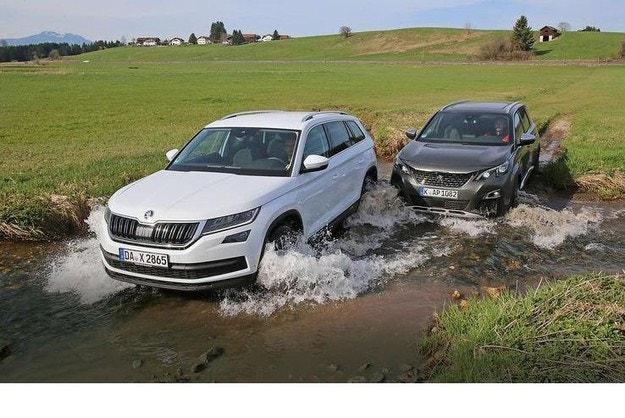 Peugeot 5008 и Skoda Kodiaq: големи SUV модели за семейства