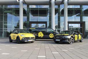 Opel подкрепя Борусия Дортмунд на финала за Купата