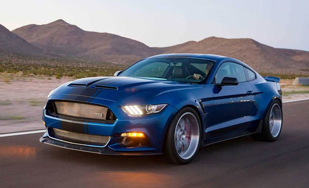 Shelby Super Snake Wide Body Concept: Mustang със 750 к.с.