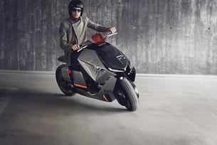 BMW създаде градски мотоциклет на бъдещето