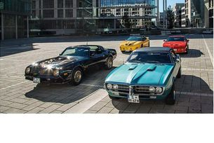 Четири поколения Pontiac Firebird: Power in the City