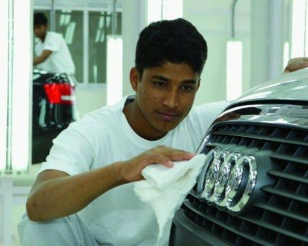 Audi стъпва в Индия
