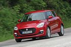 Suzuki Swift: Тънка червена линия