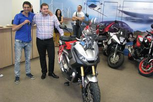 Български лекар купи първия X-ADV в Източна Европа