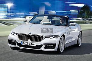 BMW Z4 (G29): През 2018 идва роудстър с мек покрив