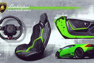 Lamborghini Huracán Verde Mantis от Vilner