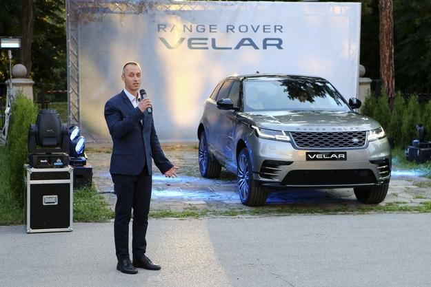 Range Rover Velar гастролира предпремиерно у нас