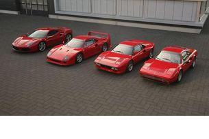 Ferrari GTB Turbo, GTO, F40, 488 GTB: Червените гълтат въздух