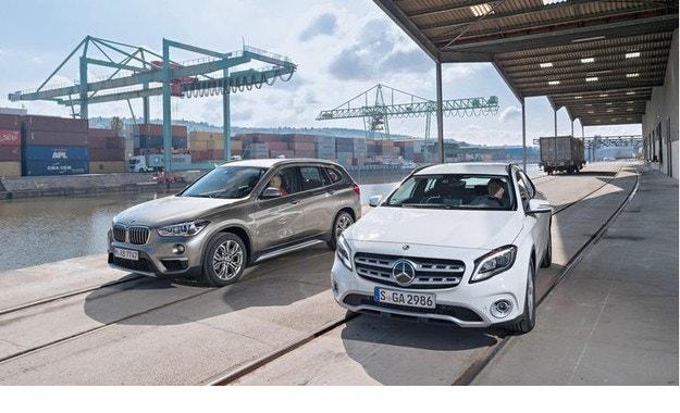 Обновеният Mercedes GLA срещу BMW X1: Разменени роли