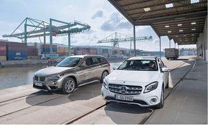 Mercedes GLA срещу BMW X1